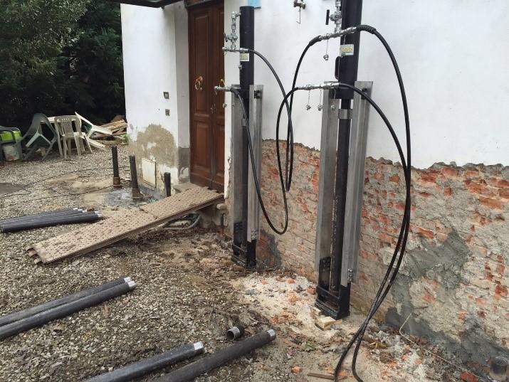 Consolidamento fondazioni in muratura systab for Resina per crepe nei muri