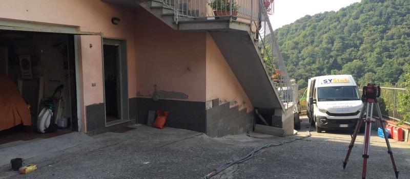 consolidamento fondazioni Genova