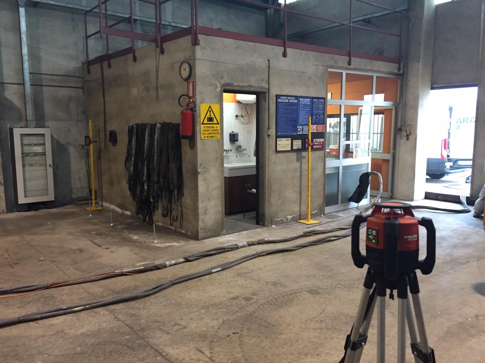 consolidamento pavimentazione industriale
