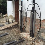 Micropali pressoinfissi per edificio in muratura
