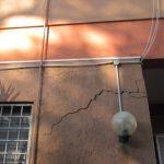 Crepe nei muri da cedimento delle fondazioni - Villa a Vitinia