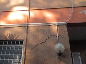 Crepe nei muri da cedimento delle fondazioni - SYSTAB