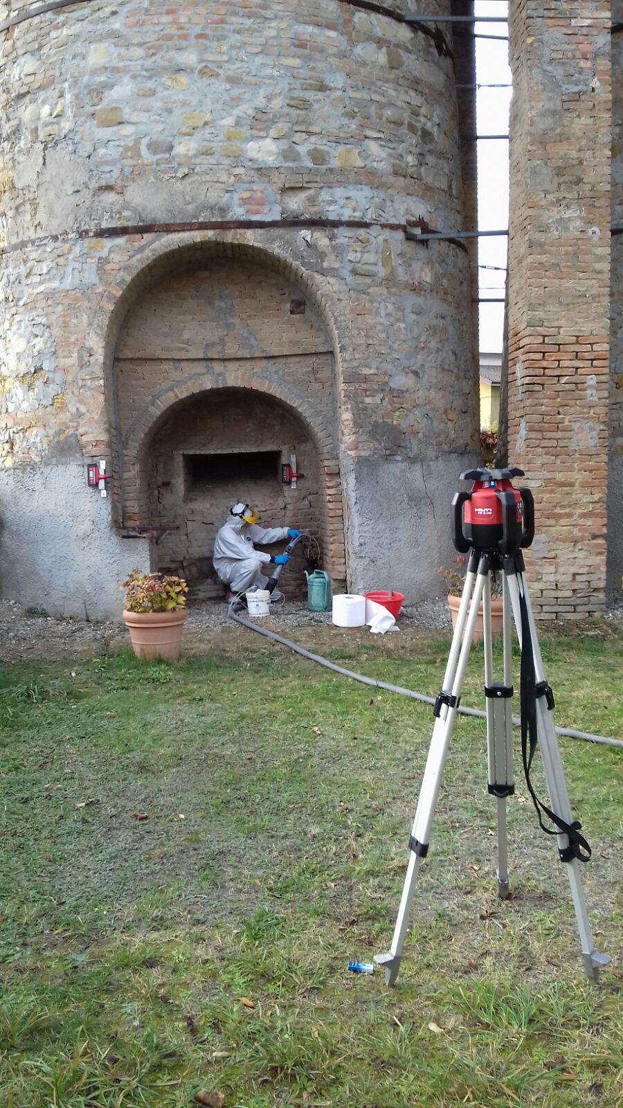 Consolidamento fondazioni Emilia Romagna con resine espandenti