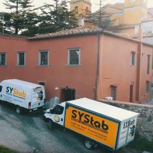 Iniezione resine espandenti - Mezzi SYStab