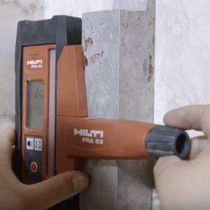 Monitoraggio laser iniezione resine consolidamento