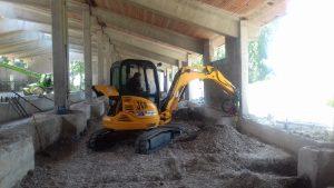 Consolidamento fondazioni capannone Venezia