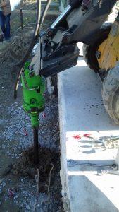 Motore idraulico per pali Elika