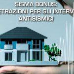 Sismabonus - consolidamenti fondazioni