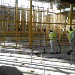 Consolidamento pavimento industriale con iniezione di resine