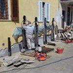 Martinetti idraulici per realizzazione di pali precaricati