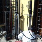 Infissione micropali - Controllo pressione