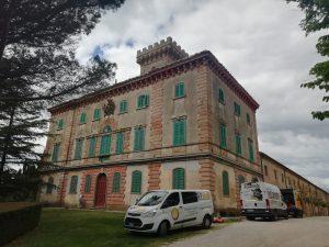 Consolidamento fondazioni di edificio storico