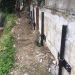 Consolidamento fondazioni con pali precaricati