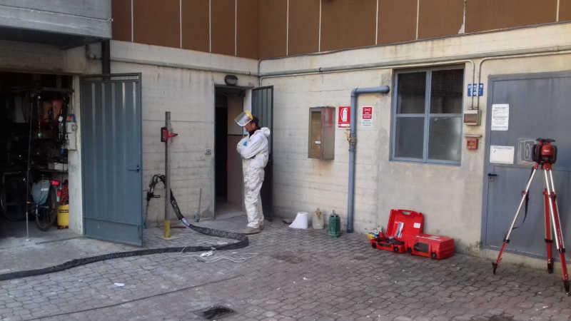 Iniezione di resine espandenti