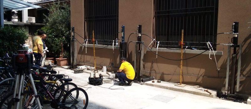Consolidamento con pali precaricati SYStab