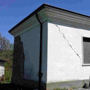 Lesioni pareti edifici