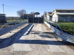 Consolidare fondamenta ponte con pali Elika