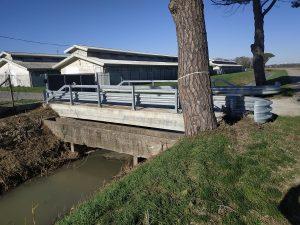 Consolidamento fondazioni ponte con pali Elika 2